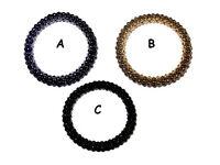 Snake chain bracelet assorted colours - JTY165