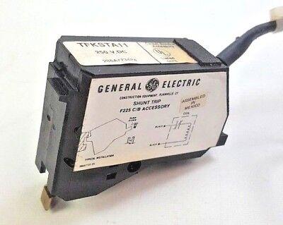 General Electric 250VDC Shunt Trip F225 C/B Accessory TFKSTA11