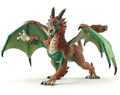 Schleich 70560 Dragon Poacher Articulated Fantasy Gamer Toy Model 2017 - NIP