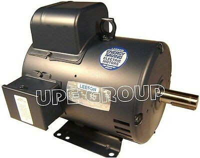 New Hd Electric Motor For Air Compressor 7.5hp 1ph 1725 Rpm 215t 230v