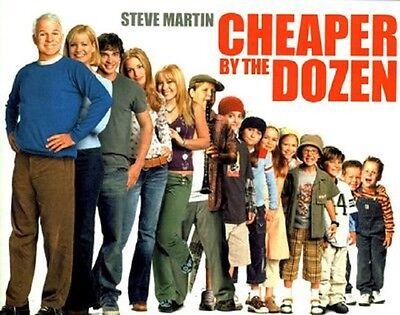 'Cheaper by the Dozen '  FILM POSTER  FRIDGE MAGNET