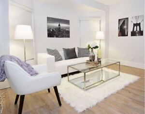 REDESIGNED & RENOVATED LUXURY URBAN 3BR COACH-HOUSE FLAT!