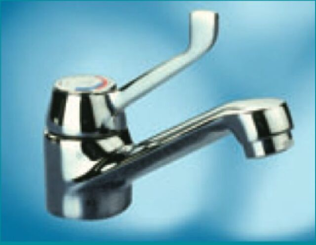 Pegler Performa 401 Lever Operated Basin Mixer Spray Tap in Chrome ...