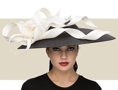 NWT AUTH PHILIP TREACY SWEEPING DOME SPRING SUMMER KENTUCKY DERBY HAT