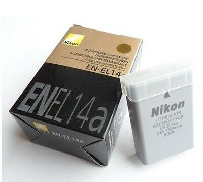 EN-EL14A Camera Battery 1230mAh For Nikon D3100 D3200 D3300 D3400 D5200 D5300