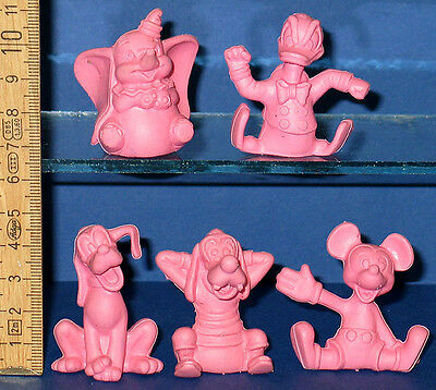 Donald Micky Maus Pluto Dumbo Walt Disney 5 - Rosa Disney Figuren