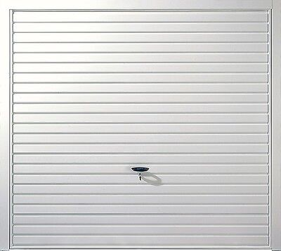 Novoferm Naseby White Steel Up & Over Garage Door, 7' X 6'6 + FREE Frame!