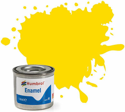 Pintura Enamel Yellow Gloss 69 Humbrol AA0761 14ml
