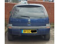 Vauxhall Corsa 1.2 16V Engine Z12XE Breaking For Parts (2003)
