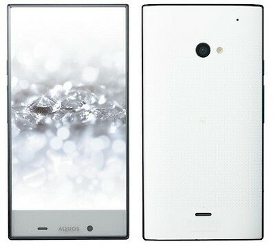 SOFTBANK SHARP 403SH AQUOS CRYSTAL 2 ANDROID UNLOCKED SMARTPHONE JAPAN WHITE NEW