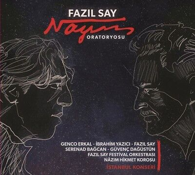 Fazil Say   Nazim Oratoryosu Fazil Say  Genco Erkal Cd 2017 Registered Shipping