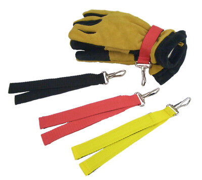 Firefighter Glove Strap - Yellow In Color