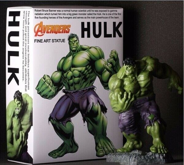 Fine Art Statue of The Avengers Hulk Solid Figure