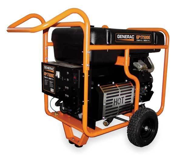 Generac Generac Portable Generator 17500 Watts Gas, 5735
