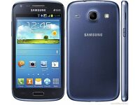 Samsung Galaxy Core Blue i8260 (Unlocked) in good condition