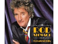 rod stewart greatest hits 2 cd very rare new and sealed