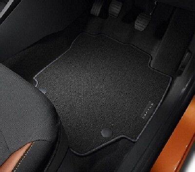Genuine Renault Captur Front & Rear Floor Mats Water Resistant