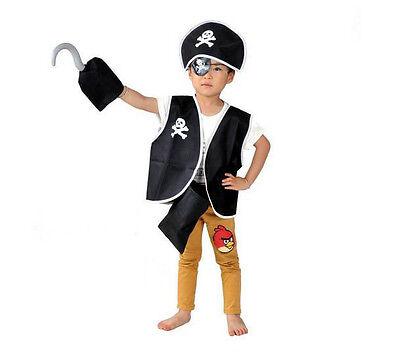 Pirat Kostüm Karneval Fasching Räuber Jungen Verkleidung Räuber Kinder -