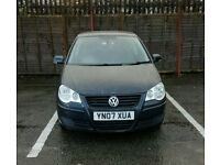 Volkswagen Polo SE 1.4TDI 80 2007 '13 Months MOT, Service History, £30 Road Tax'