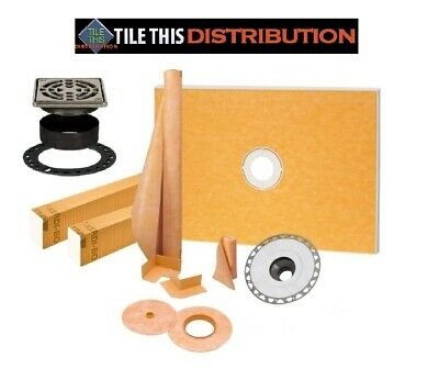 SCHLUTER KERDI SHOWER KIT   (ALL 5 SIZES)  BEST PRICE and FAST SHIPPING