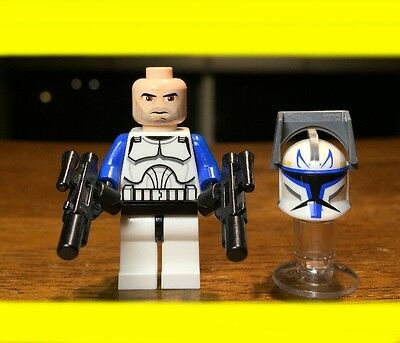 LEGO STAR WARS CLONE 1ST EDITION CAPTAIN REX AUTHENTIC MINIFIGURE ONLY SET 7675  ()
