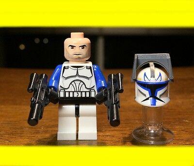 LEGO STAR WARS CLONE 1ST EDITION CAPTAIN REX AUTHENTIC MINIFIGURE ...