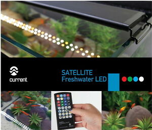"24-36"" CURRENT LED+ FRESHWATER AQUARIUM LIGHT w/Remote Control"
