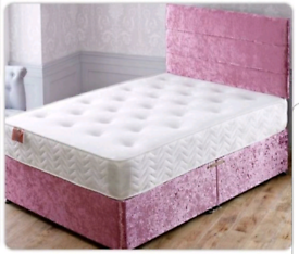 ⭐💎 LUXURY BEDS ON SALE.+ MATT.💚FREE DELIVERY 💛 ALL SIZES COLOURS
