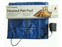 Heated pet puppy pad (low energy and easy to clean)
