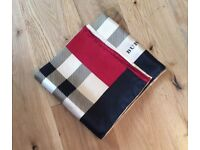 100% silk twill scarf. 90x90cm. Brand new
