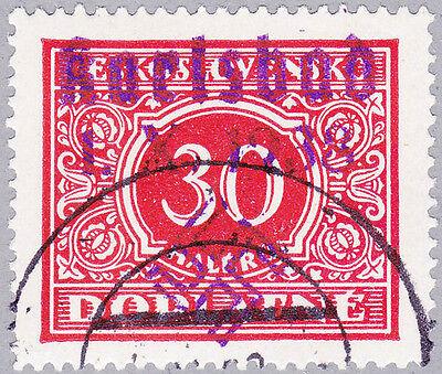 Karlsbad Mi.Nr. 33 gestempelt mit Fotobefund Brunel VP