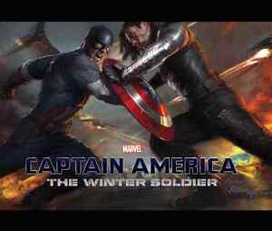 The art of captain america winter solider