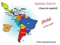 Private Spanish Lessons, Native Teacher