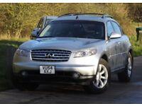 2004 Infiniti FX PREMIUM 4 AWD 3,5 litre FSH Left Hand Drive