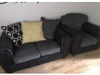 3+2 seater sofas plus chair