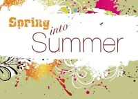 Spring Into Summer Craft Fair and Expo