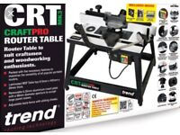 NEW Trend CraftPro 110v Router Table