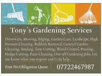 50% off All Gardening Services For The Months of April and May