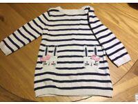 Girls Jumper Dress 9-12 Months