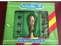 Original Subbuteo table soccer FIFA World Cup Spain v England '83