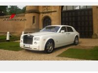 Ace star wedding car hire - self drive hire, Rolls Royce Phantom Hire, Manchester, Leeds, Nottingham