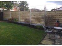 🌷Heavy Duty Timber Wayneylap Fence Panels New •