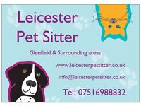 Leicester Pet Sitter - Professional Pet Sitting and Dag Walking Service
