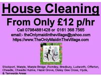 ONE LITTLE CALL CLEANS IT ALL! | Domestic House Cleaning Services. Please give Us a Try!