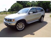 BMW X5 Diesel,with very low mileage,Top of the range spec,Great condition through out,New MOT,Etc,
