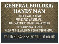 GENERAL BUILDER,HANDY MAN