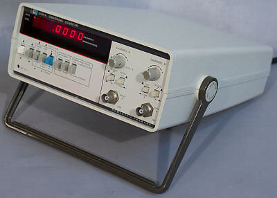 Hp 5314a Basic Universal Frequency Counter 100 Mhz 100 Ns