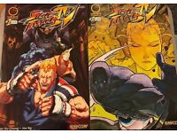 Street Fighter IV comic issues 1&2