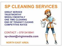 SP CLEANING SERVICES weekly monthly one time cleans end of tenancy cleans