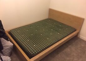 IKEA double bed & matress (used)